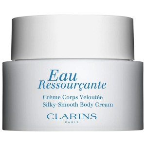 CLARINS EAU RESSOURCANTE SILK-SMOOTH BODY CREAM aksamitny krem do ciała 200ml